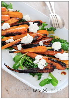 Stonesoup burnt carrot salad