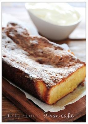 Stonesoup delicious lemon cake