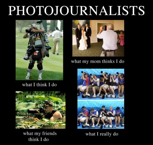 Meme - photojournalists