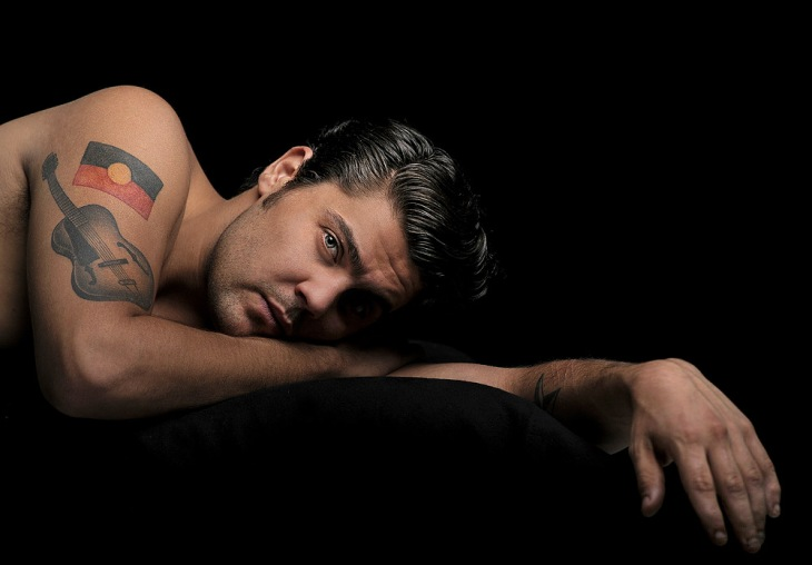 Dan Sultan (by Martin Philbey)
