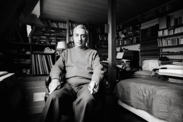 Writer Roland Barthes